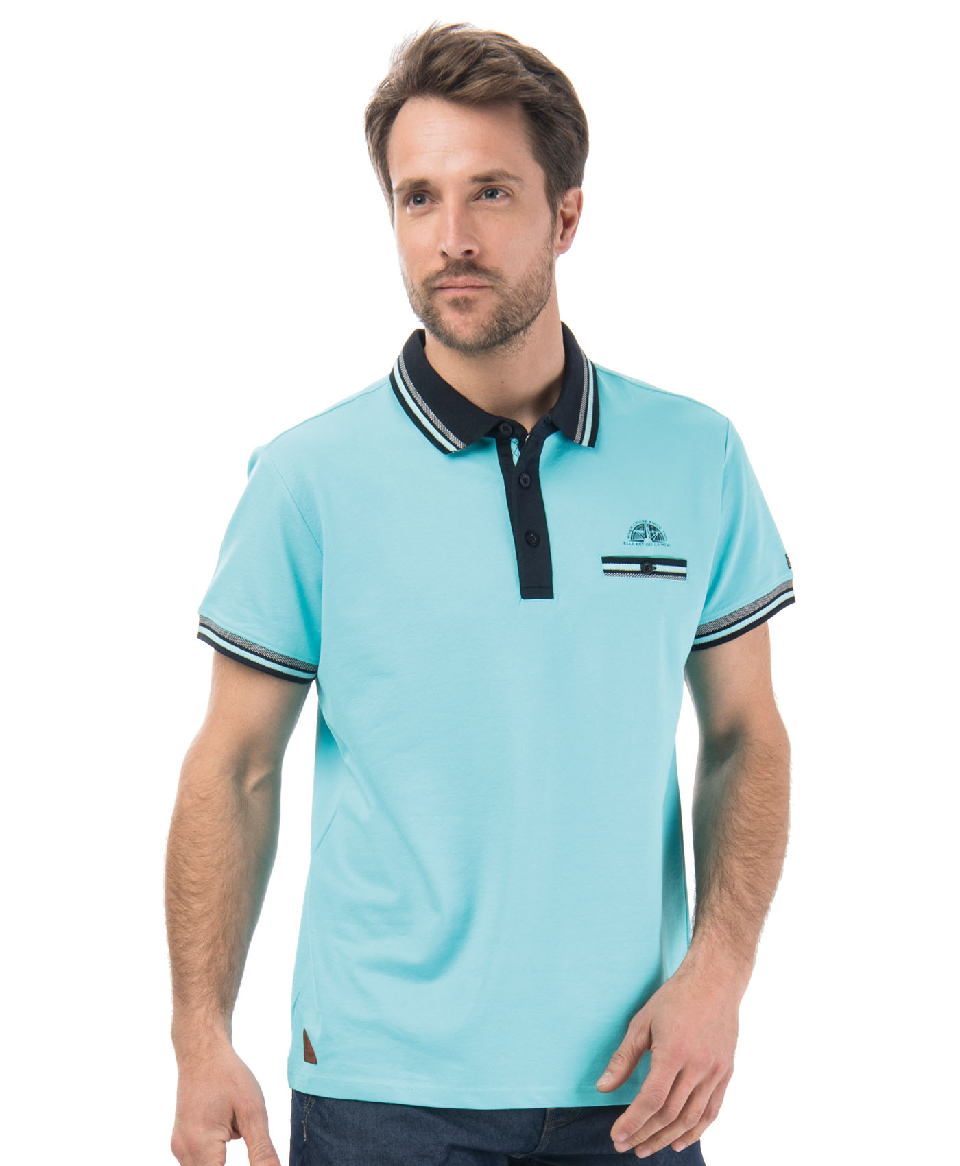 Polo homme - Mode marine Promotions
