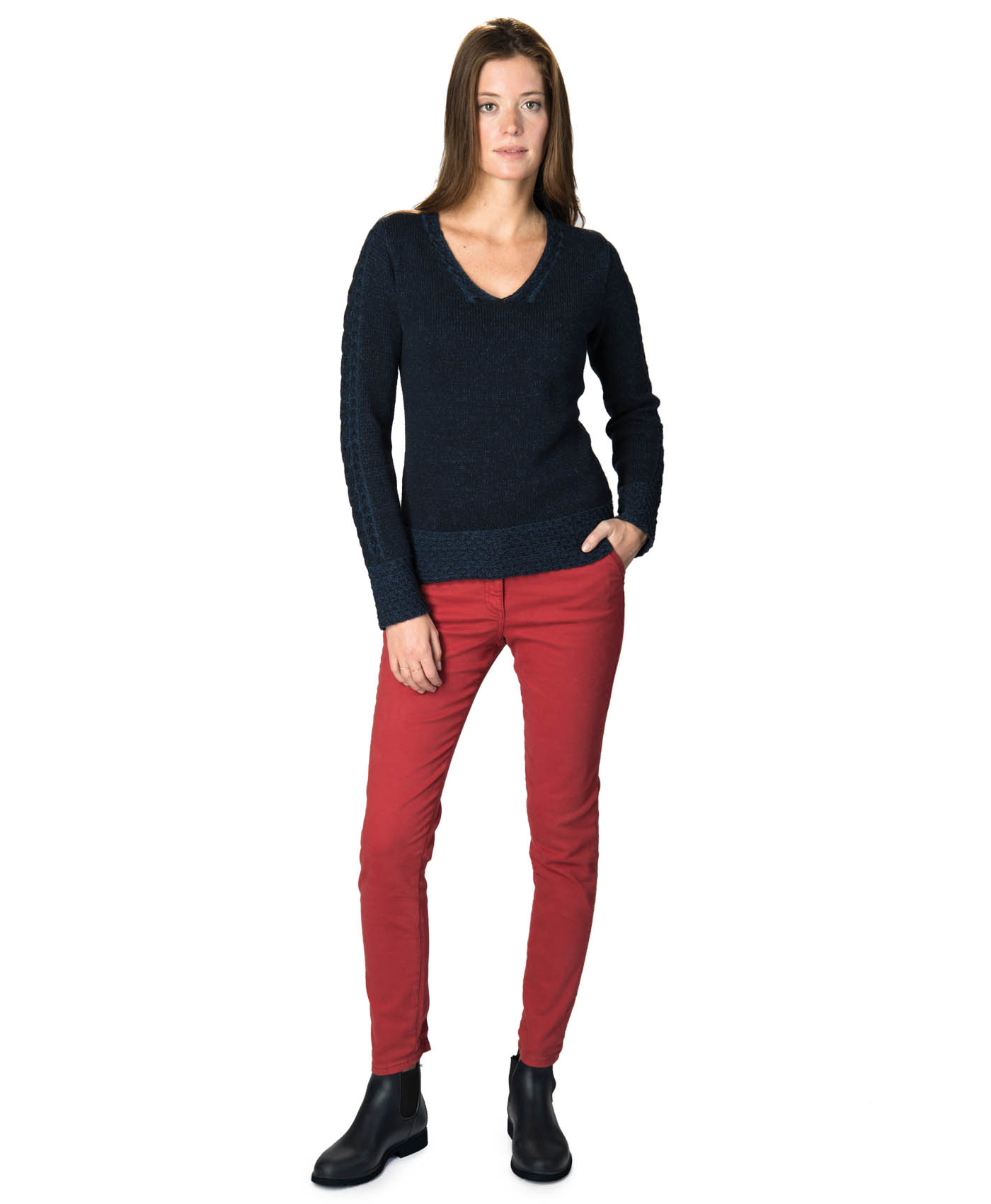 design intemporel 4912f 57fa9 Pantalon femme
