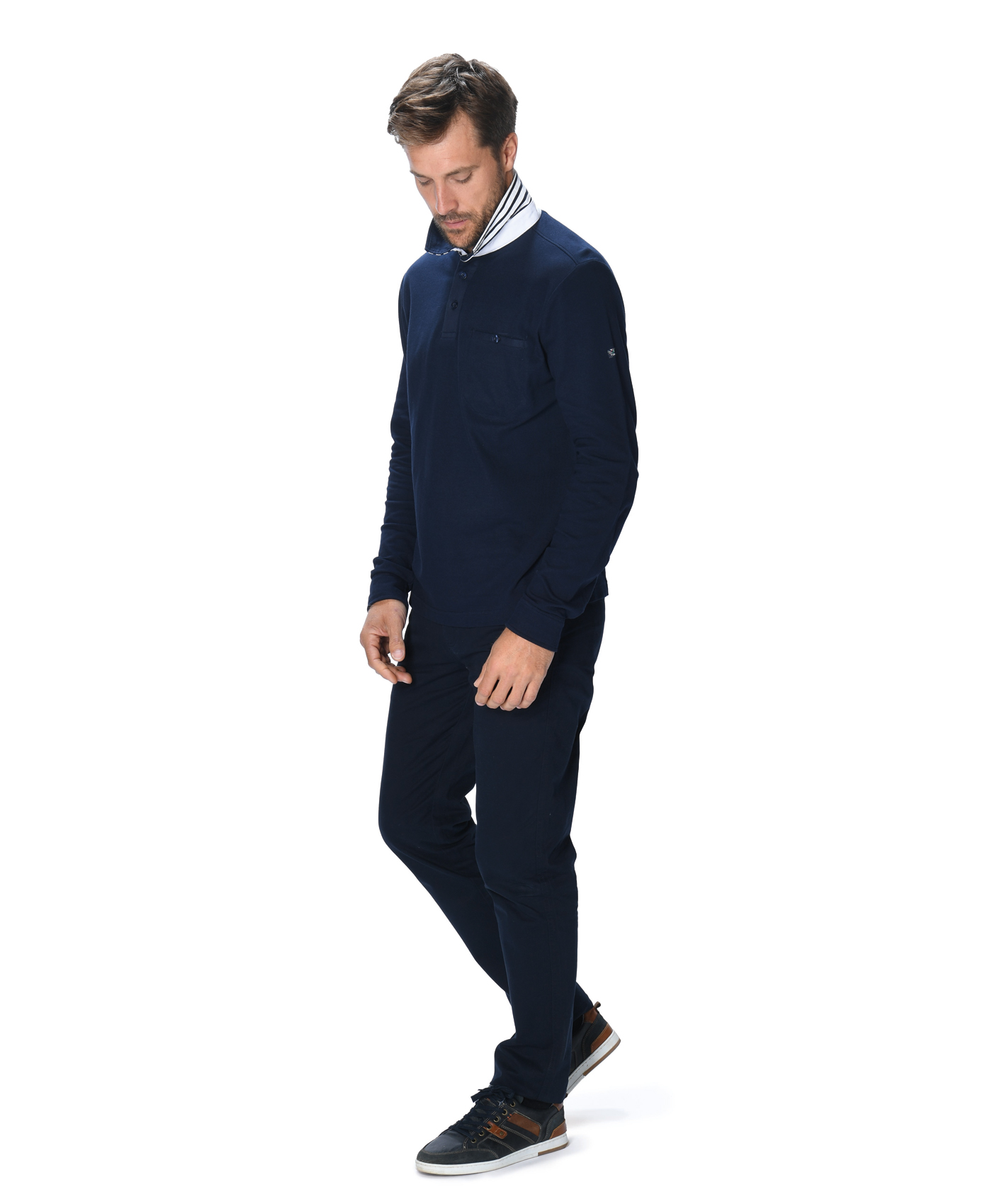 Polo marine homme - Mode marine Homme
