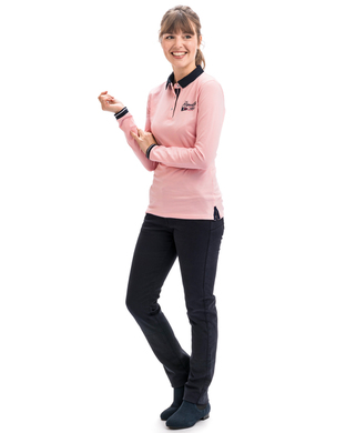 Polo manches longues femme - Mode marine Promotions