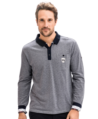 Polo gris homme_0
