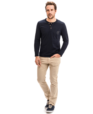 T-shirt manches longues homme - Mode marine Homme