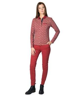 Polo manches longues femme - Mode marine Femme