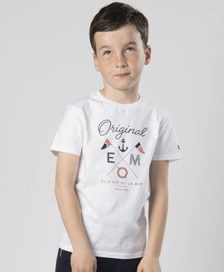 Tee-shirt manches courtes enfant - Mode marine FINPromotions