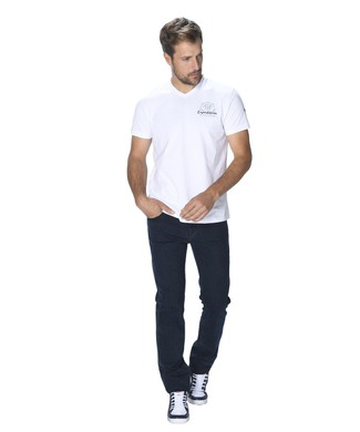 OLEVIO T-Shirt MC H BLANC OPTIQUE_1