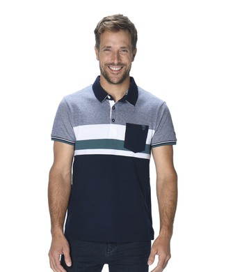 Polo manches lcourtes homme - Mode marine Homme